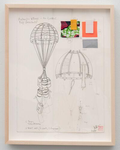 Lucy & Jorge Orta, 'Antarctica - Drop Parachute', 2008