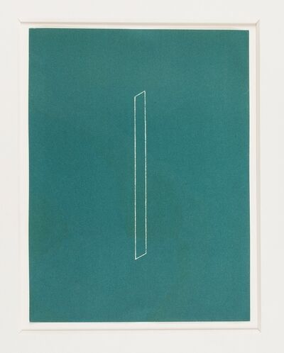Fred Sandback, 'Untitled from Twenty-two constructions from 1967 (Jahn 128)', 1986