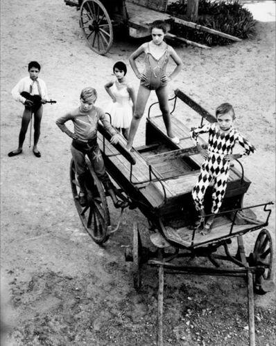 Lucien Clergue, 'Quintette de la grande récréation III, Arles', 1955