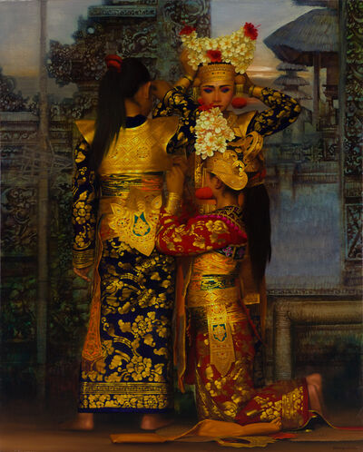 Rearngsak Boonyavanishkul, 'The Legong Dancers of Peliatan', 2002