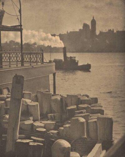 Alfred Stieglitz, 'City Across the River', 1910