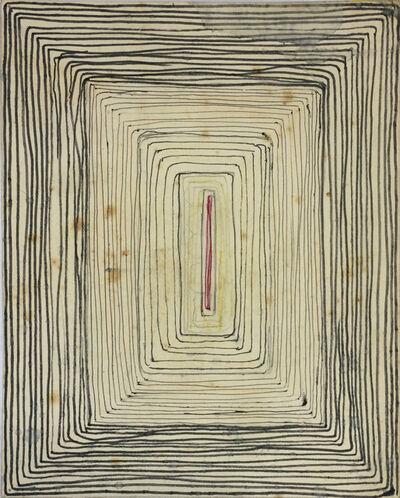 Mathias Goeritz, 'Apunte para el mural del Museo Nacional de Antropología', 1965
