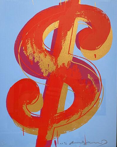 Andy Warhol, '$(1) (FS.IIA. 283 - 284)', 1982