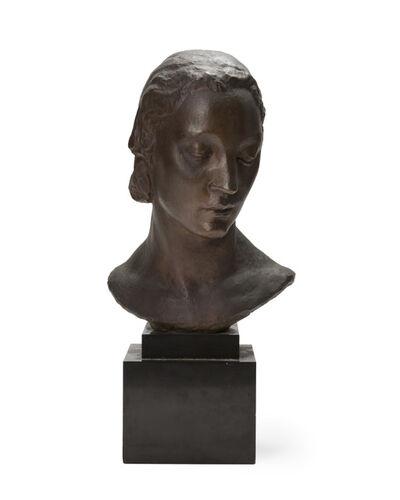 Robert Wlerick, 'Bust of a woman'
