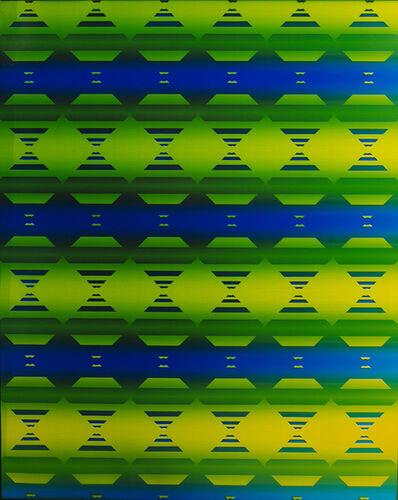 Bryan Graf, '4th Dimension Hourglass Lattice I', 2018