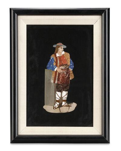 Unknown Artist, 'Pietre Dure Figural Plaque ', 1815-1918