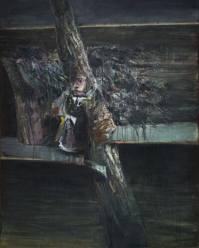 Nikos Aslanidis, 'Figure and Tree', 2014