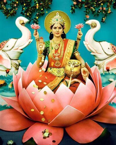 Manjari Sharma, 'Maa Laxmi', 2011