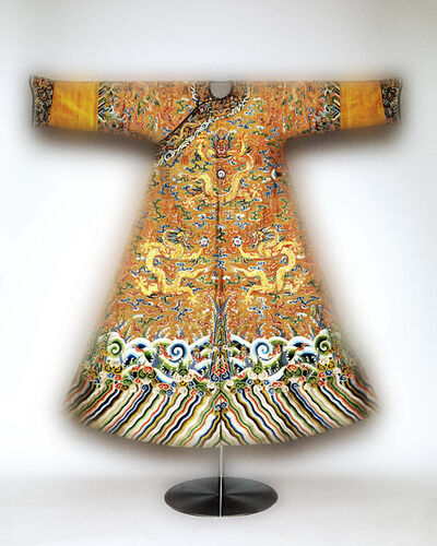 'Festival robe worn by Emperor Qianlong', Second half of 18th-century