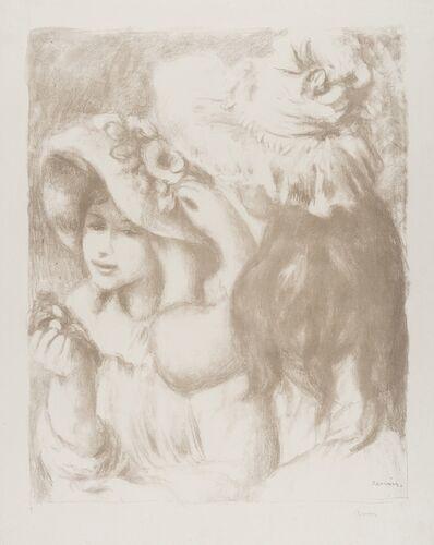 Pierre-Auguste Renoir, 'Le Chapeau epingle (2e planche) (D., S. 30)', 1898