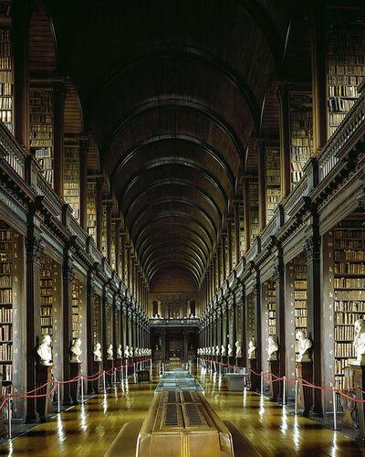 Massimo Listri, 'Trinity College Library, Dublin, Ireland | World Libraries', 2012
