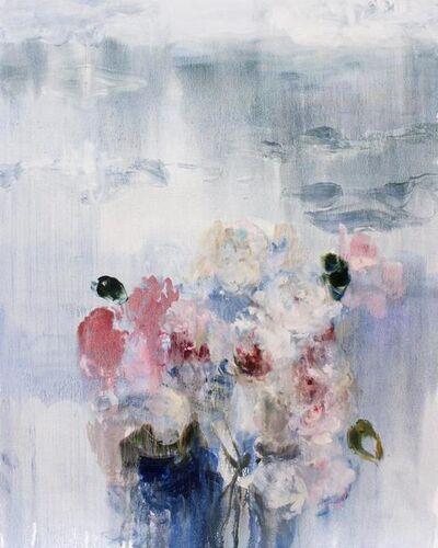 Darlene Cole, 'Lake (love notes, roses + peonies)', 2019