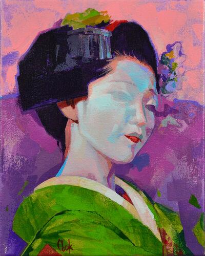 Bud Cook, 'Geisha Study 3', 2020