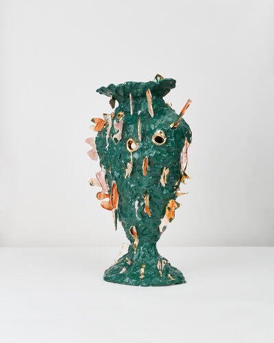 Katie Stout, 'Green Shard Vessel', 2021