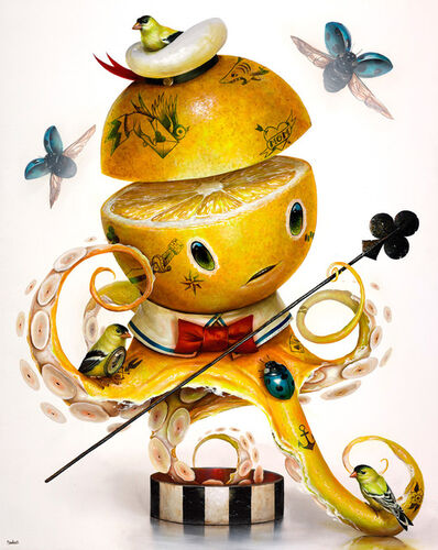 Greg 'Craola' Simkins, 'Yellow', 2016