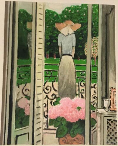 Jean-Pierre Cassigneul, 'La fenêtre ouverte'