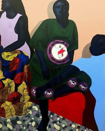 Tonia Nneji, 'Sit and Listen (II)', 2020