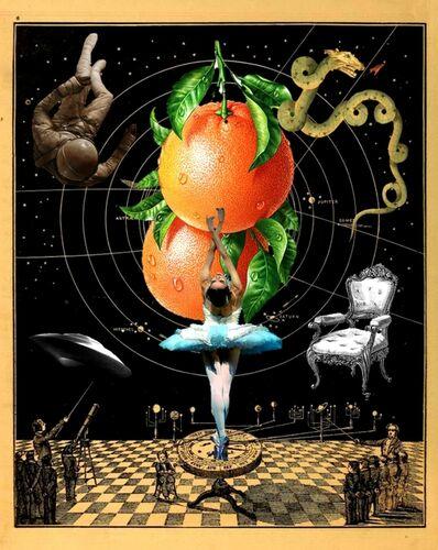 Robert Fleischman, 'Ballet Orange'