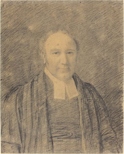 John Constable, 'Half-Length Portrait of a Cleric'