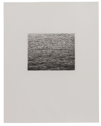 Vija Celmins, 'Drypoint - Ocean Surface (Second State)', 1985