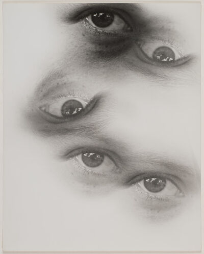 Gyorgy Kepes, 'Untitled (Multiple exposure: eyes)', 1938