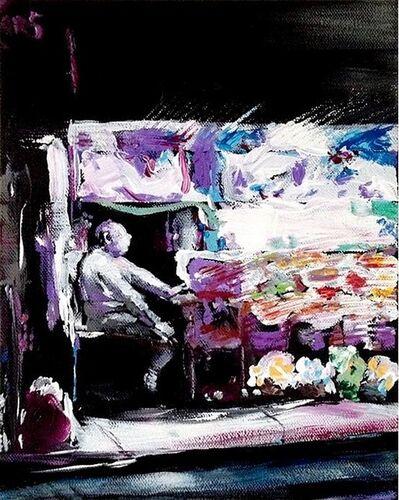 Bill Dunlap, 'The Flower Vendor, Manhattan', 2016