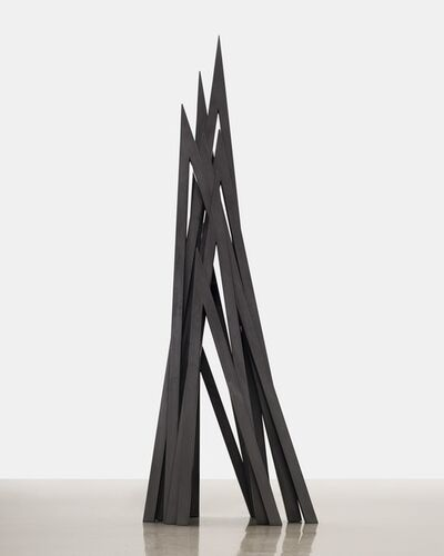 Bernar Venet, '9 Acute Unequal Angles', 2015