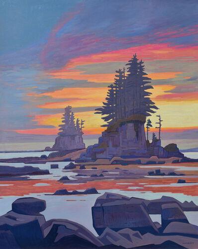 Nicholas Bott, 'West Coast Trail Sundown', 2019