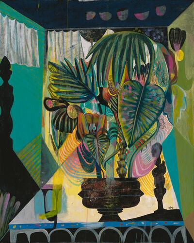 Olaf Hajek, 'Green Room / Still Life', 2016