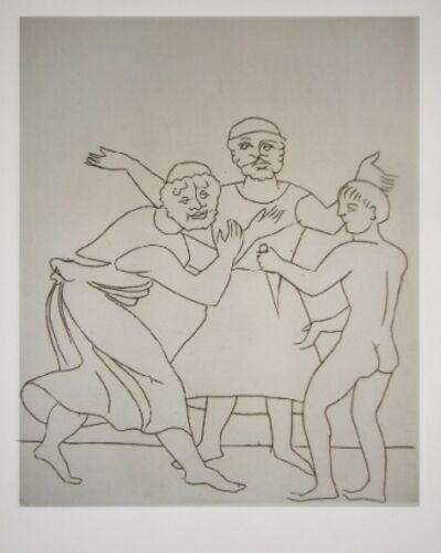 André Derain, 'Le satyricon', 1934
