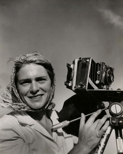 Margaret Bourke-White, 'Self Portrait', 1946