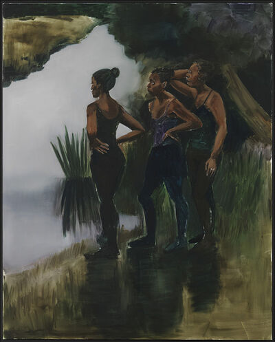Lynette Yiadom-Boakye, 'Magenta in the Ravages', 2016
