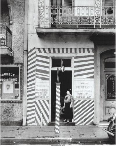 Walker Evans, 'Barber Shop, New Orleans', 1936