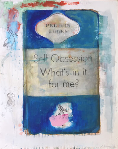 Harland Miller, 'Self Obsession - What's In It For Me?', 2018