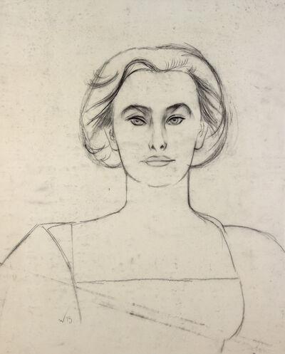 Will Barnet, 'Study for Elena in White'