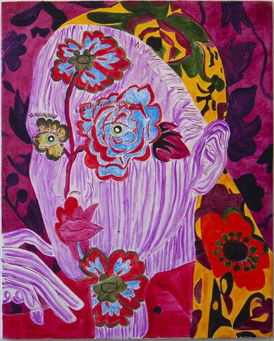 Heidi Howard, 'Self-Portrait Grandma's Scarf ', 2016