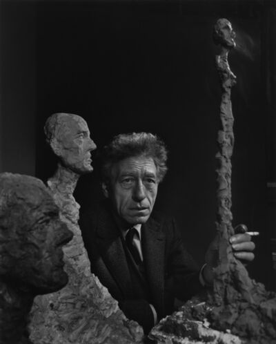 Yousuf Karsh, 'Alberto Giacometti', 1965