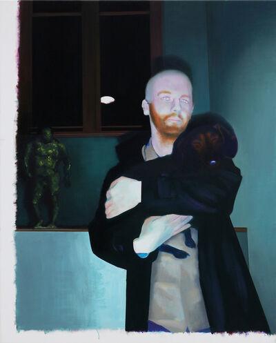 Akos Birkas, 'Der Heilige Severinus und der Heilige Aidan', 2013