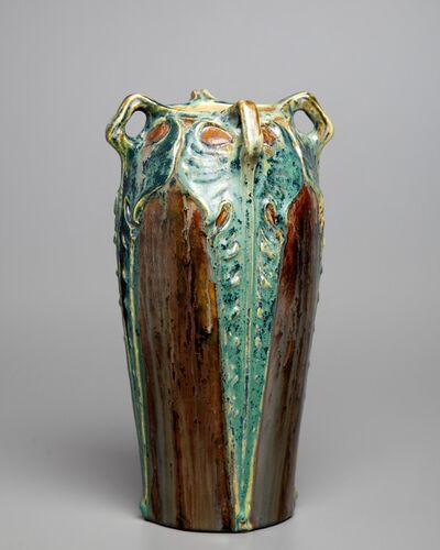 Fachschule Teplitz, 'Fleur Du Mal Vase', ca. 1900