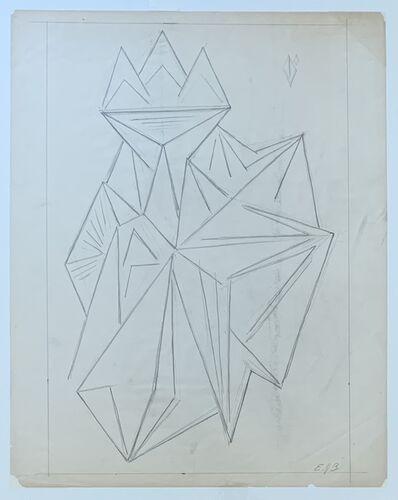 Emil Bisttram, 'Untitled', ca. 1930