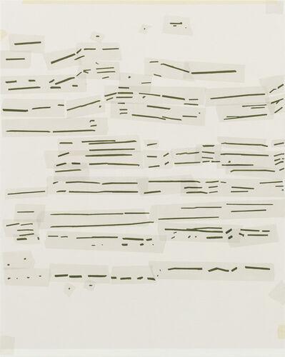 Kees Goudzwaard, 'Brushstroke Drawing', 2014