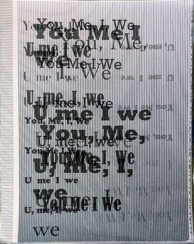 Matt Keegan, 'You, Me, I, We', 2007
