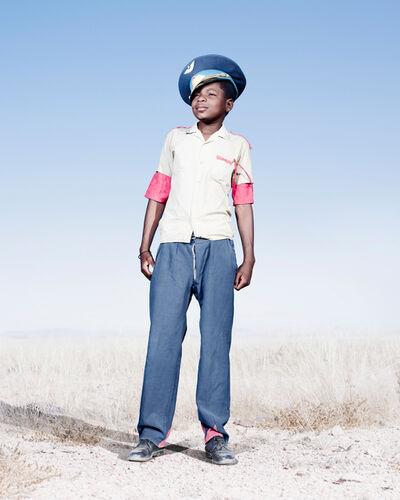 Jim Naughten, 'Herero Cadet in Blue Hat', 2012