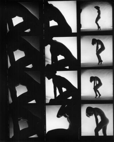 Peter Basch, 'untitled contact sheet (187 B)', ca. 1960