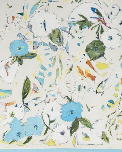 Teresa Roche, 'Hydrangea, Blueberries & Sapphire'