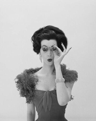 William Helburn, 'Dovima with Opera Glasses, Corday', ca. 1961