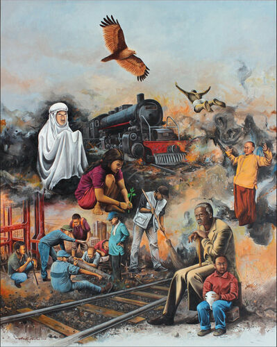 Andi Sules, 'Spiritual Journey', 2015