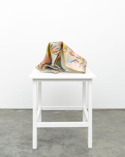 Ghada Amer, 'A Hidden Kiss', 2014