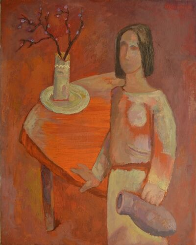 Vadim Semenovich Velichko, 'Woman with jug', 1975