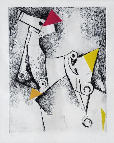 Marino Marini, 'Geometria', 1971